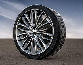 Alfa Romeo 8C Spider Rims 3D