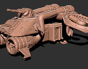3D print model Thunderbird Heavy Assault Transport