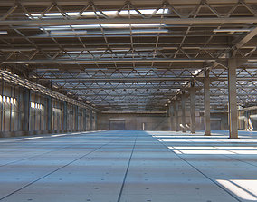 3D model industrial Warehouse