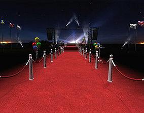 3D asset VIP Red Carpet Pack