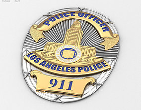 Police Badge 3D