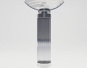 Bracket lamp Papilon - Art Deco style 3D