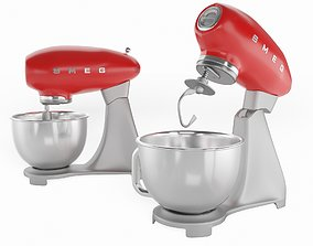 Stand mixer gift 3D model