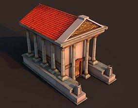 3D model Rome Temple 2