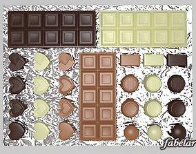 3D Chocolates 01