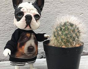 frenchbulldog BJD doll for 3d printing is french bulldog