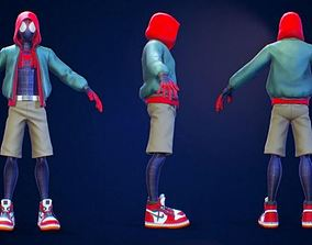 comic Spider man multiverse 3D model