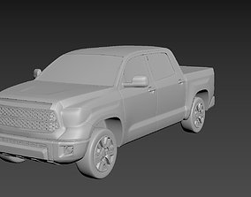 Toyota Tundra 2020 Crewmax on a small scale 3D print model