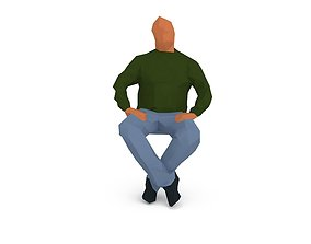 Man 1k 215 3D model