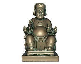3D model God of wealth