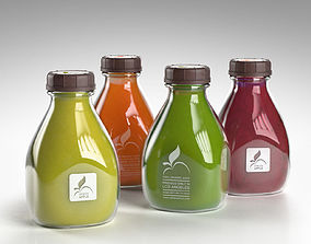 Living Green Juices 3D