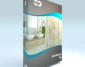 3D asset Bathroom 05