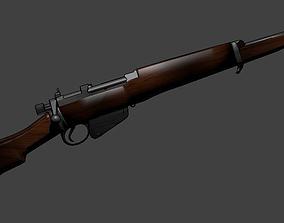 Lee Enfield 303 Jungle Carbine No 5 Mk 1 w-peep 3D asset