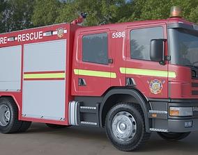 fire rescue 3D model