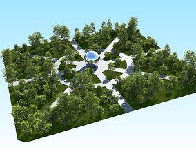 visualization 3D model Acer Maple Trees Mega Pack