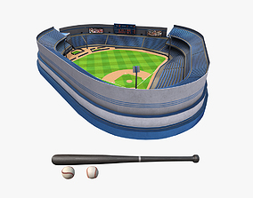 Baseball Pack 3D asset