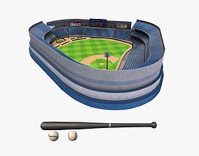 Baseball Pack 3D asset