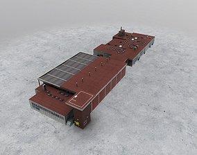 EGCC Fire Station 3D model