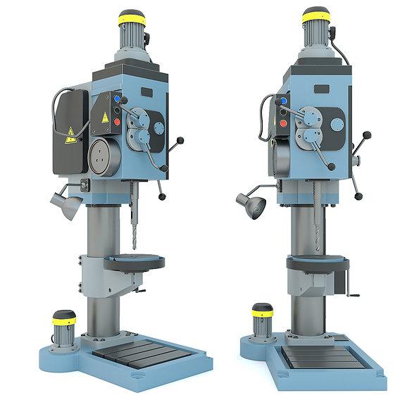 Industrial machine tool drilling vertical press 2N125
