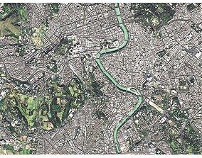 3D model Cityscape Rome Italy