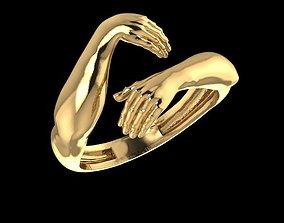 Hug ring 3D print model