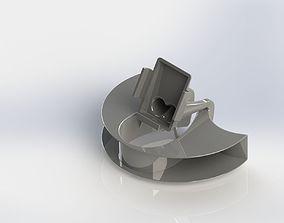 Lumia 625 Passive Speaker 3D print model