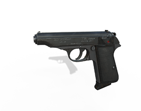 Walther PP 3D model
