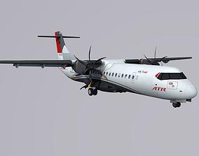 3D model low-poly ATR 72-600