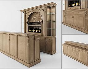 Classic bar table 3D