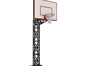 exterior 3D Basketball Hoop