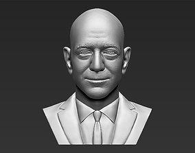 Jeff Bezos bust 3D printing ready stl obj