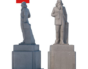 Sculpture Mendeleev 193 3D model