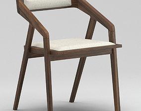 3D Katakana Dining Chair