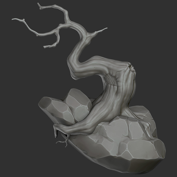Stylized Tree Sculpt