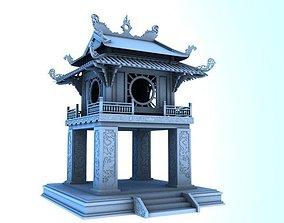 3D model constellation of literature pavilion of