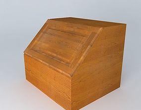 Kitchen Red Fair Cabinet 3D model