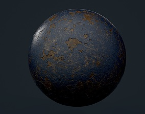 tileable Fabric Leather Seamless PBR Texture 3D model