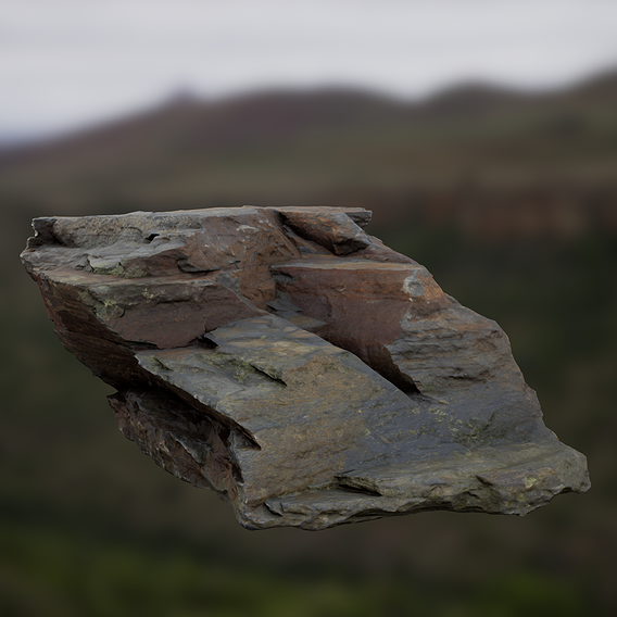 UE4 Real-Time 8K Rock Rendering