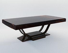 Dining table - Art Deco 1920 - France 3D model