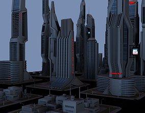 Taos City 3D model