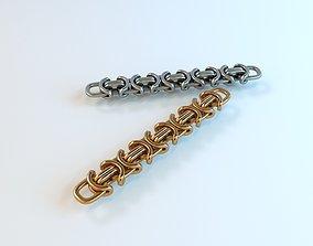 3D printable model Braided chain