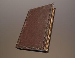 3D model realtime Old Book