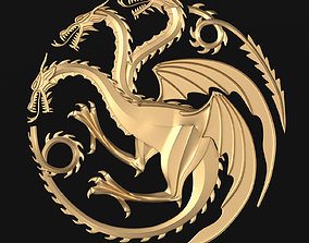 3D model Game of Thrones - House Targaryen