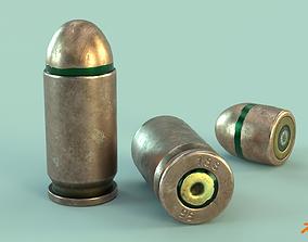 3D model Cartridge 9x18 mm PM - 9 PPT gzh
