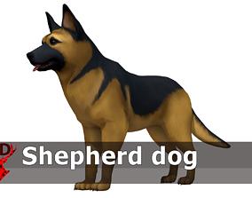 Shephed dog 3D model