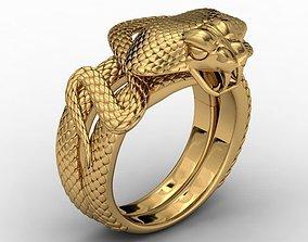 3D printable model Ring cobra no gem