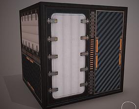 3D model Futuristic PBR Textures P4