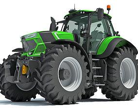 Deutz Fahr Tractor 3D model