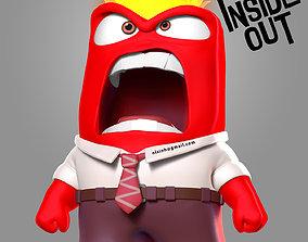 Anger - Inside Out Fanart 3D printable model