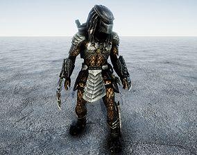 3D model Predator Combat Animated